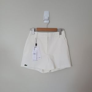 NWT lacoste high waisted shorts